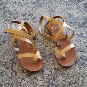 Tory Burch Patos Flat Gladiator Sandal